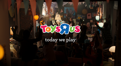 Toy R Us Today We Play Campaign